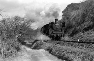 肥薩線のC57 1970年
