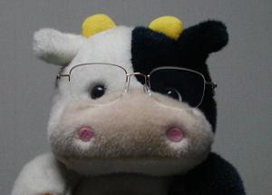 新しい遠近両用眼鏡