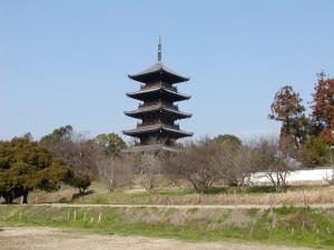 吉備国分寺五重塔